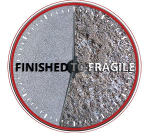 Concrete Goes From Finished To Fragile